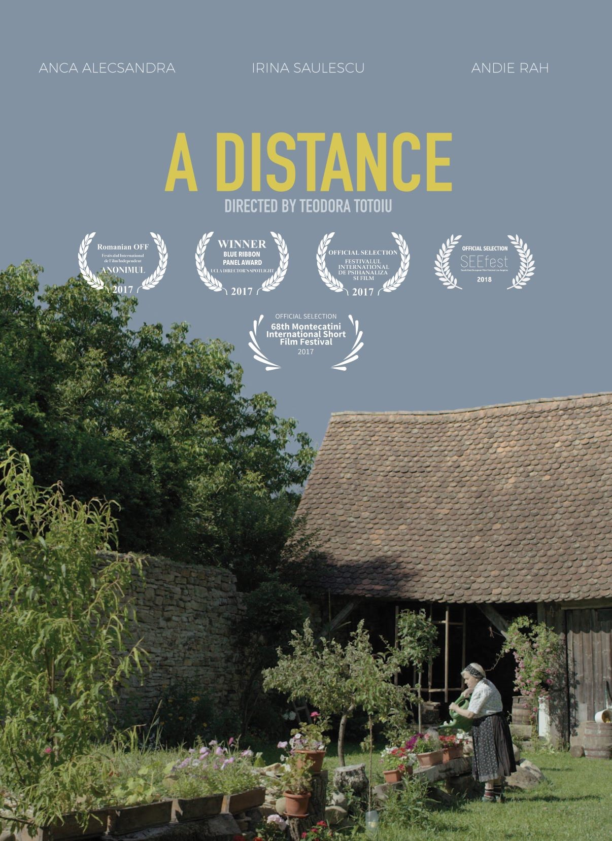 A Distance poster
