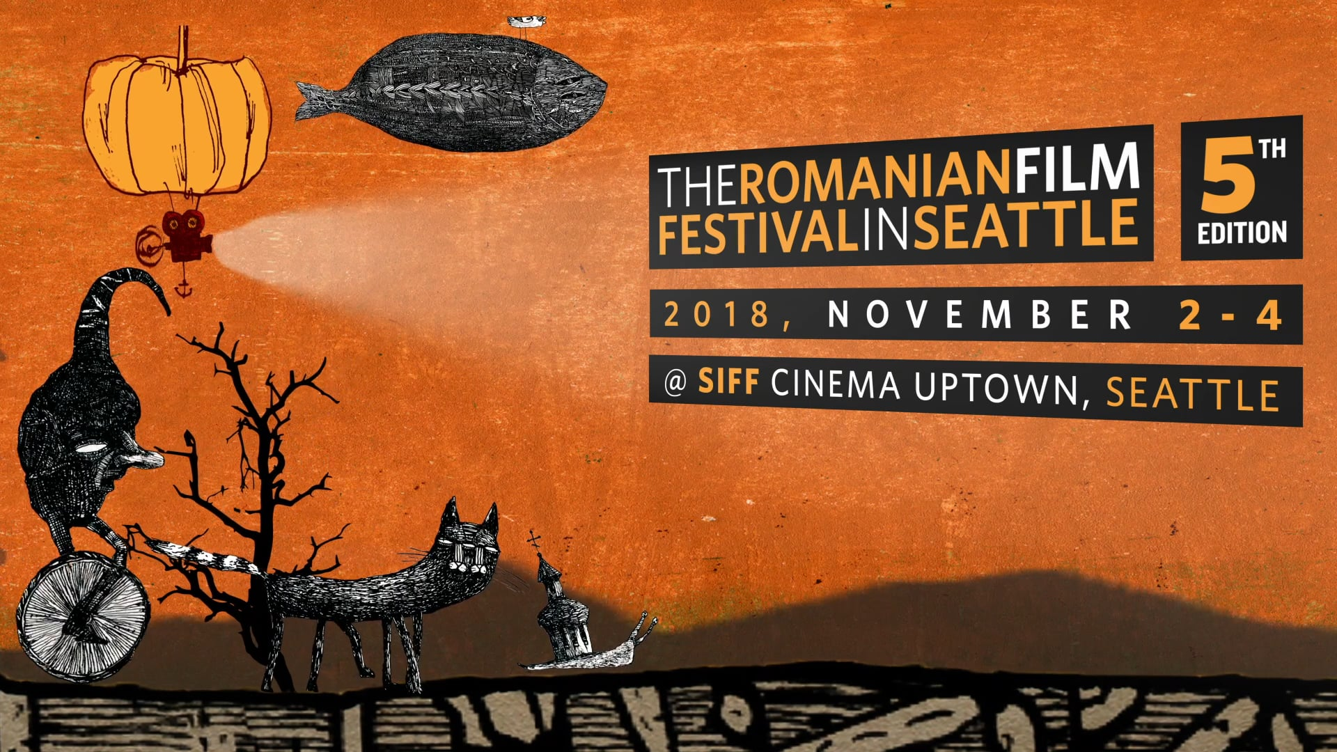 Poster image for Romanian Film Festival - 5th Edition